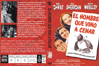 El hombre que vino a cenar (1942) The Man Who Came to Dinner