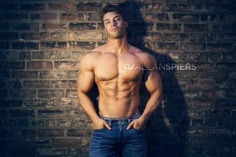aesthetic muscle, Alex Davis, bodybuilder, great abs, male fitness model, male model, muscle, physique, ripped muscle, vascular muscle,