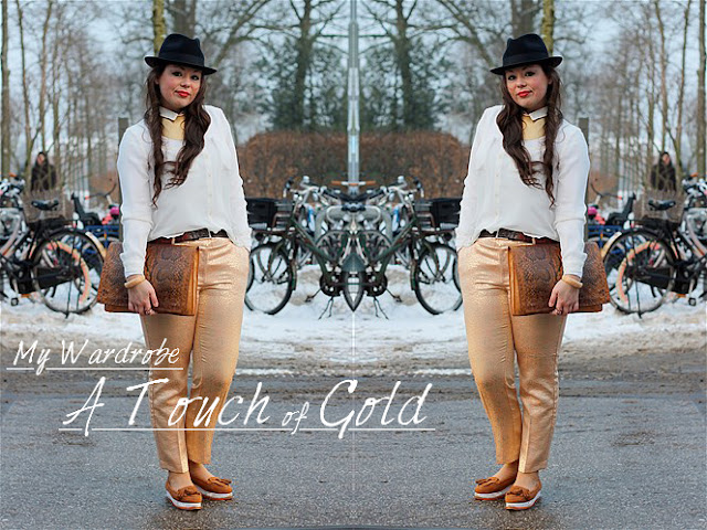 My Wardrobe; A Touch of Gold!!! OOTD, WIW, Accessories, Amsterdam, Beauty, Casual, Chique, Fashion, Fashion Week, look, My Wardrobe, Outfit, Streetstyle, Style, Vintage, Webshop, What Im Wearing,