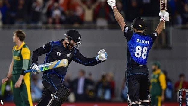 NZ Beat SA in World Cup Semi Final