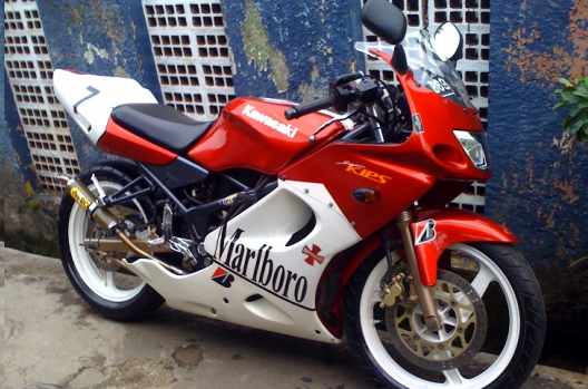 Modif Ninja 150 RR 2007 Simple Karismatik