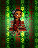 africa theme, chibi
