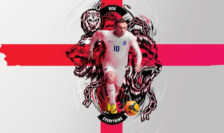 Nike Risk Everything England 2014 Rooney England 2014