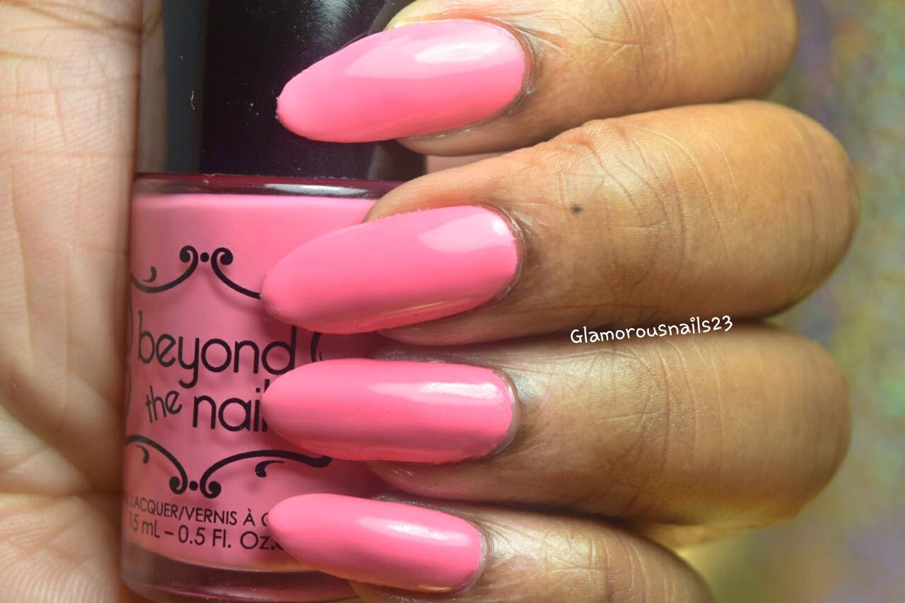 Beyond The Nail Spring Red Swatch