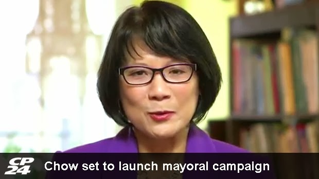 OLIVIA CHOW - our mayor