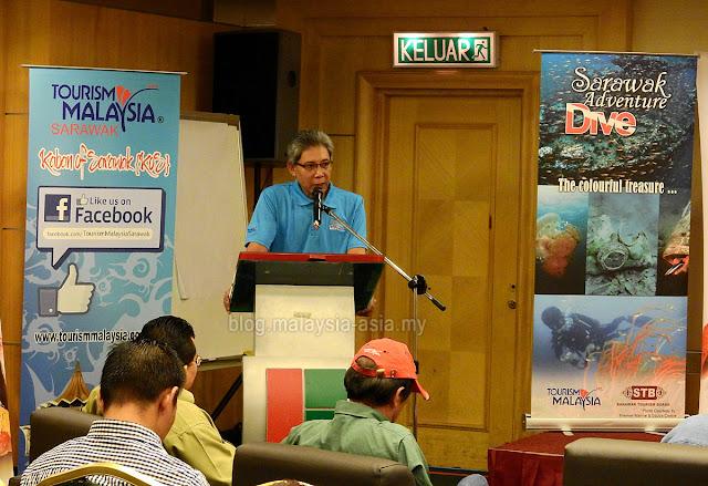 Director of Tourism Malaysia Sarawak, En.Salahuddin