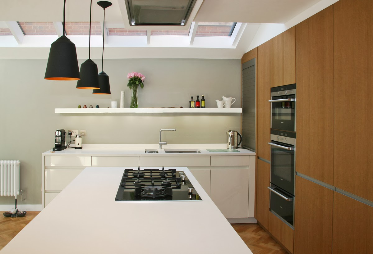 The Kitchen Design Was Devised Alongside Martin Williamson Of InHouse  Kitchens, Featuring Leicht Furniture And Seimens Appliances, And The Top Is  A Honed ...