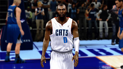 NBA 2K13 Bismack Biyombo Cyber Face Mods