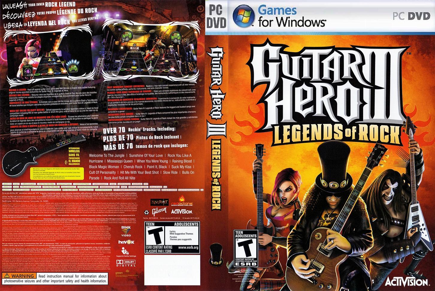 Guitar Hero 3 Para Pc 1 Link En Español [Mi Subida]