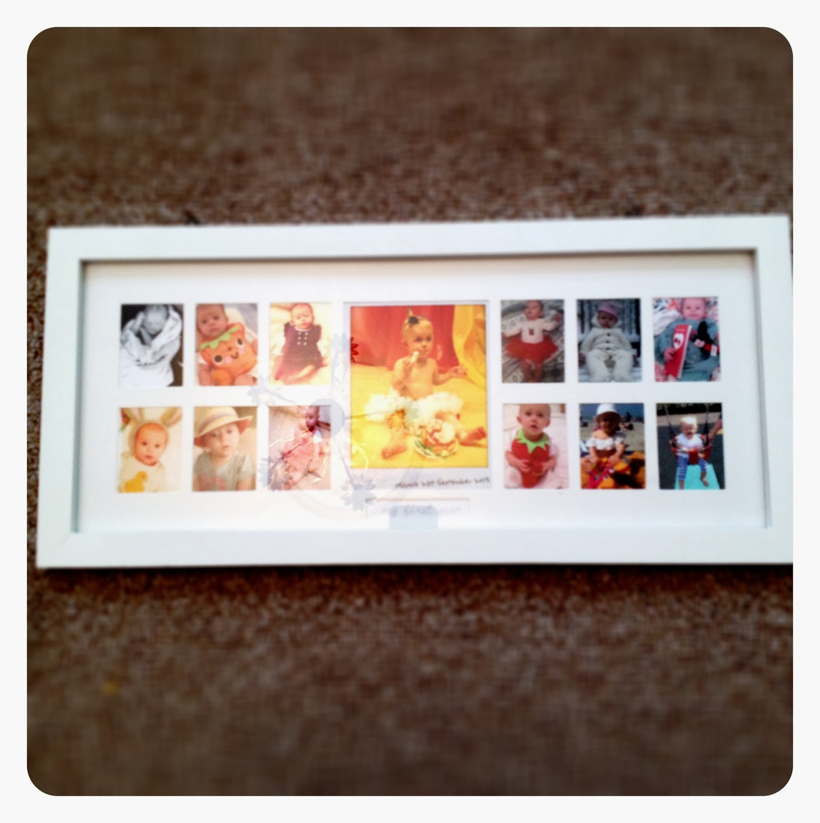 mamasVIB | V. I. BUYS: A photographic keepsake gift thats perfect for mamas-to-be from Mothercare, | A keepsake gift for mamas-to-be | baby shower gift ideas | picture frame | my first year frame | mothercare | mamasVIB