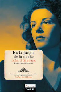 John Steinbeck libro en la jungla de la noche