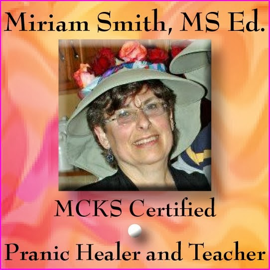 CERTIFIED PRANIC HEALER AND INSTRUCTOR