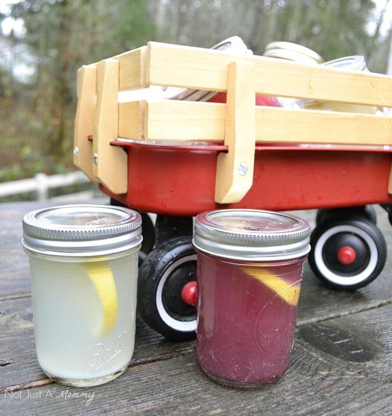 Serve mason jar cocktails at your next get-together!
