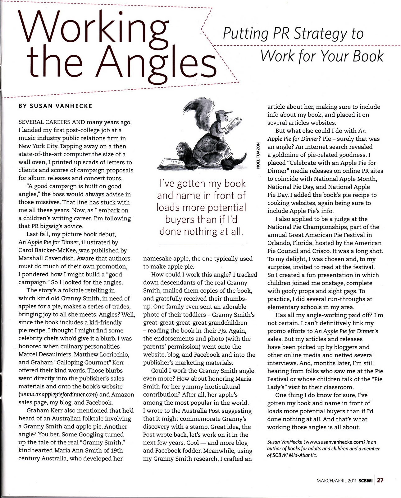 resources for writers susan vanhecke working the angles putting pr strategy to work for your book
