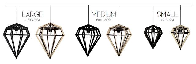 döden, lampa, taklampa, lampor, taklampor, bordslampa, bordslampor, tvåfota design, inredning, webbutik, webbutiker, webshop, nettbutikk, nettbutikker, diamant, diamantlampa, diamantlampor, diamanter, kökslampor, kökslampa, rabatt, rabatter, erbjudande, rea,