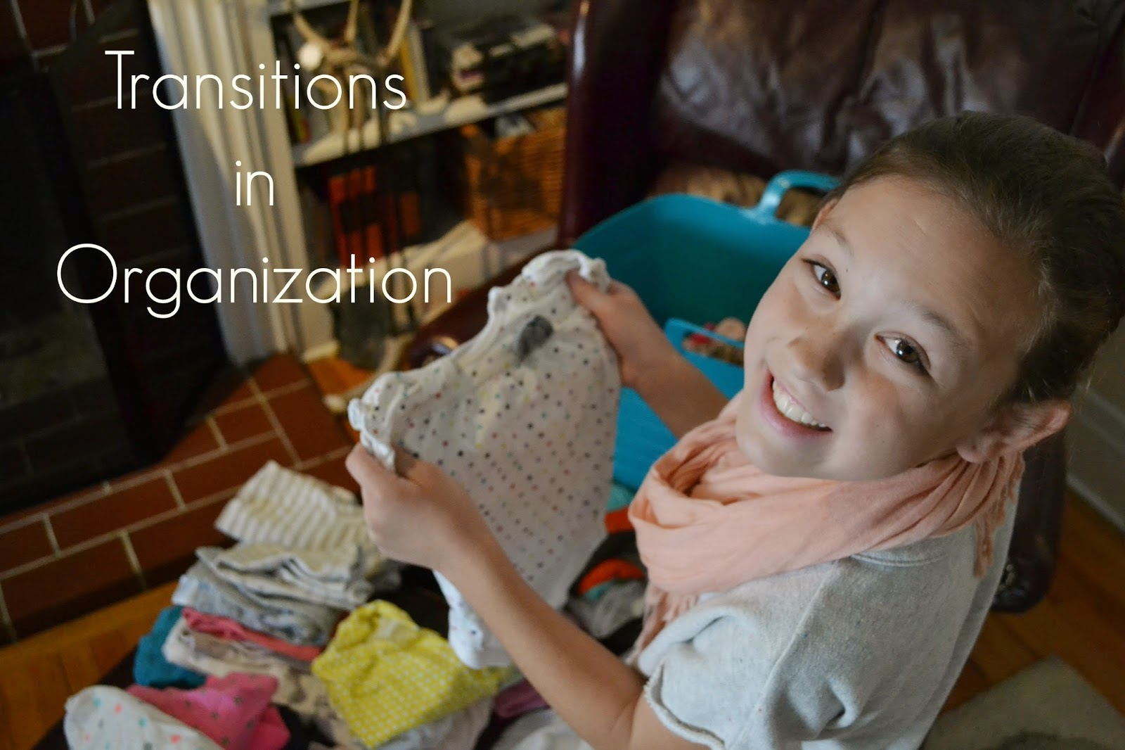 Transitions in Organization - for kids from 1-18 :: OrganizingMadeFun.com