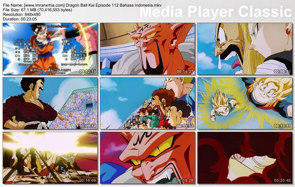 Download Film / Anime Dragon Ball Kai Episode 112 (Waktunya Serangan Utama! Raja Iblis yang Menjulang Tinggi!) Bahasa Indonesia