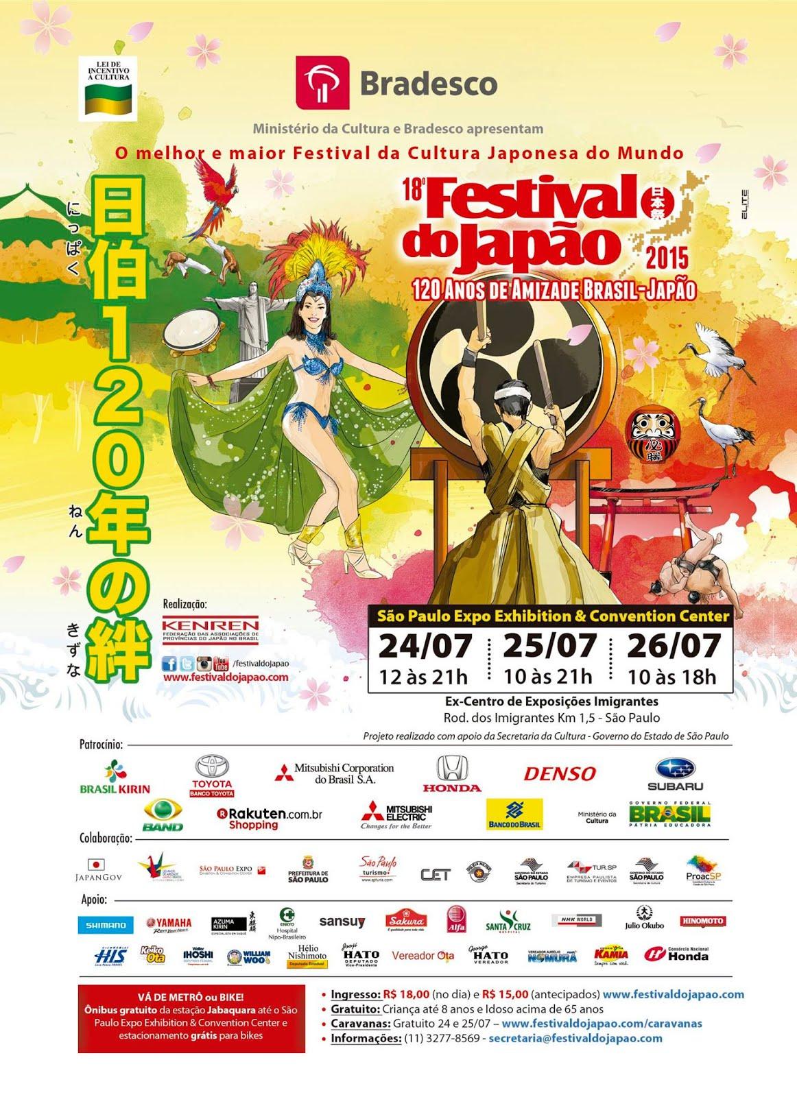 18º FESTIVAL DO JAPÃO 2015