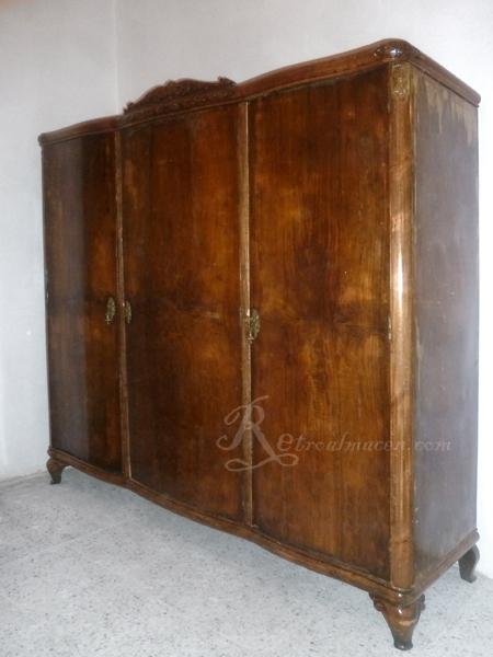 Armario Ropero Original : Retroalmacen tienda de antig?edades vintage y