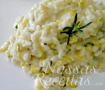 deliciosa receita de risoto de abobrinha com ora-pro-nobis
