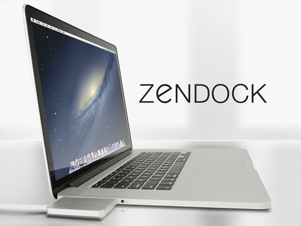 zendock, zenboxx, apple, cables, macbook, macbook pro retina display, USB flash drives, Ethernet cables, display cables, power cables,
