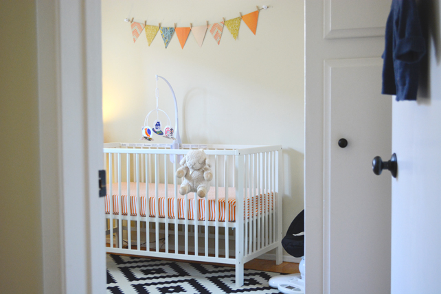 Ford's Baby Boy Nursery - Interior Design by Lesley Myrick, Pasadena Interior Designer