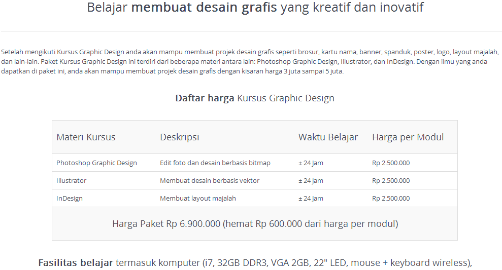 Kursus Graphic Design
