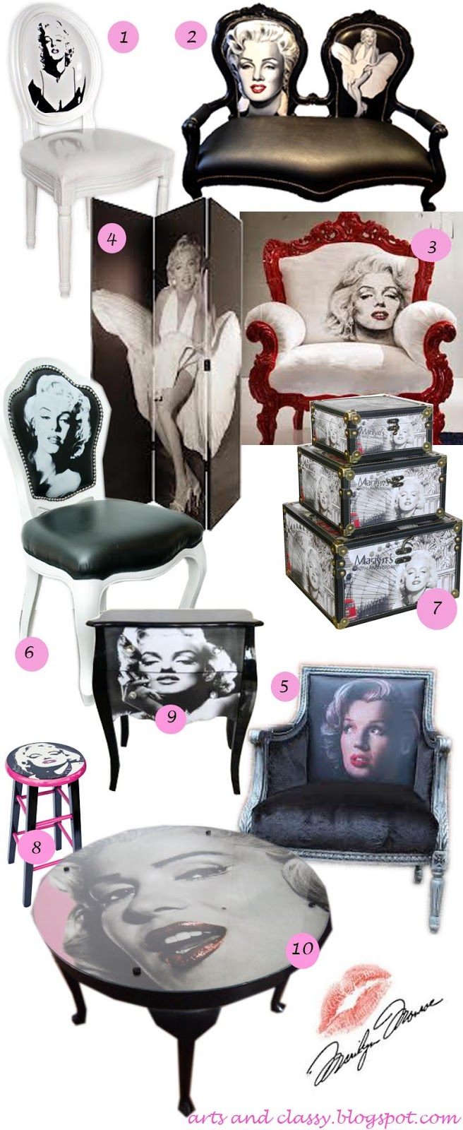 Diy home decor ideas on a budget Marilyn monroe bedroom furniture
