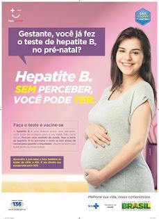 Você, futura mamãe, ja fez o teste da hepatite B no pré-natal?