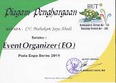 Event Organizer Balikpapan : Sertifikat Exhibition Organizer