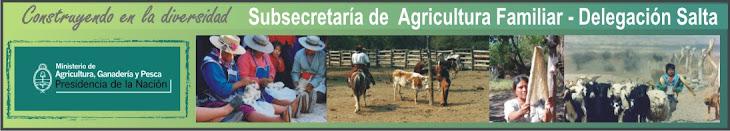 Subsecretaría de Agricultura Familiar Delegación Salta