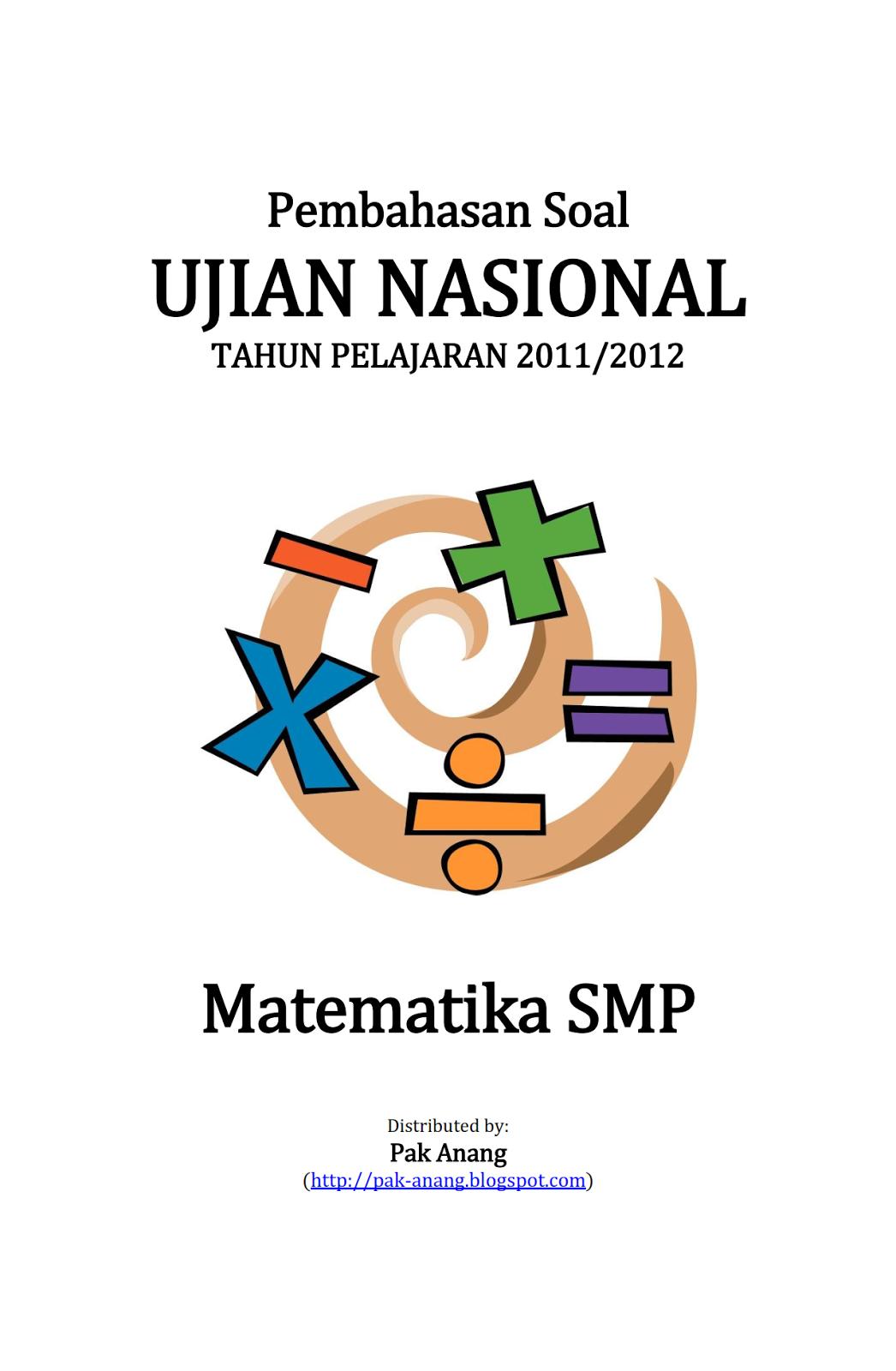 Pembahasan Soal Un Matematika Smp 2012 Belajar Bahasa Inggris Dan Grammar Bahasa Inggris