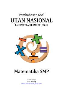 Pembahasan Soal Un Matematika Smp 2012