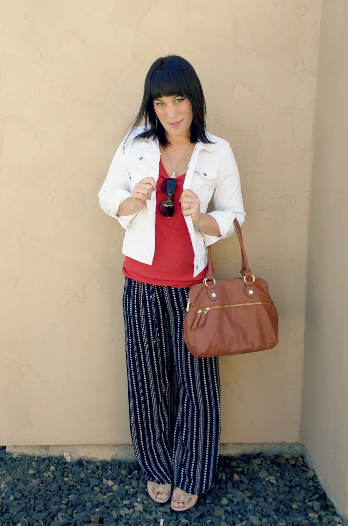 Six ways to wear palazzo pants