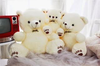 Boneka beruang love 18