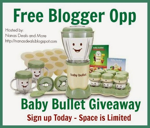 baby bullet giveaway free blogger opp Baby Sign All Done Baby Sign Play
