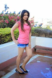 Actress Prabhjeet Kaur  Pictureshoot Gallery in Denim Shorts  29
