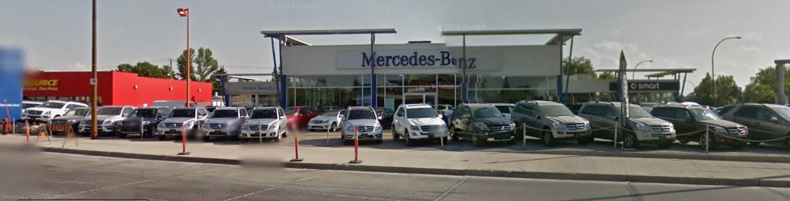 Mercedes benz winnipeg moving to kenaston college for Mercedes benz winnipeg