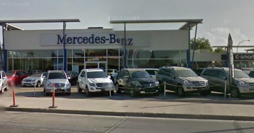 Observations reservations conversations mercedes benz for Mercedes benz winnipeg