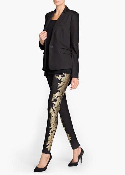 Pantalones print barroco look fiestas