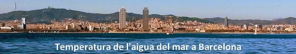 Temperatura de l'aigua del mar a Barcelona