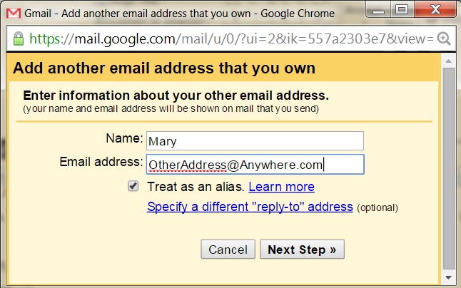 Letting other people send email from your Google account - and ...