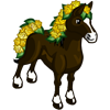FarmVille Yellow Rose Horse Bonus Prize April Shower