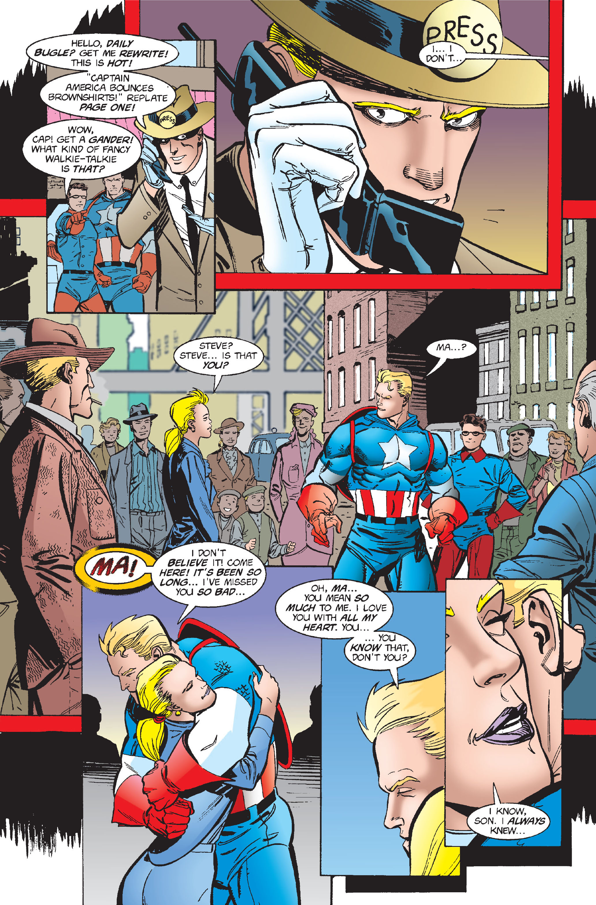 Captain America (1968) Issue #448 #402 - English 10