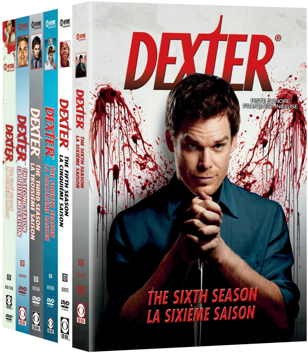 Dexter - THE COMPLETE SIX SEASONS