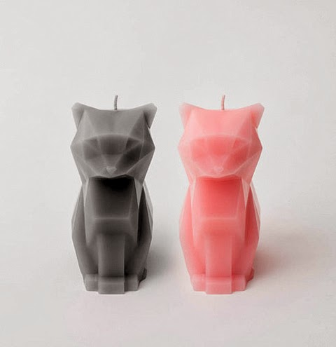 Pyro Pet Adorable Cat-shaped Candles