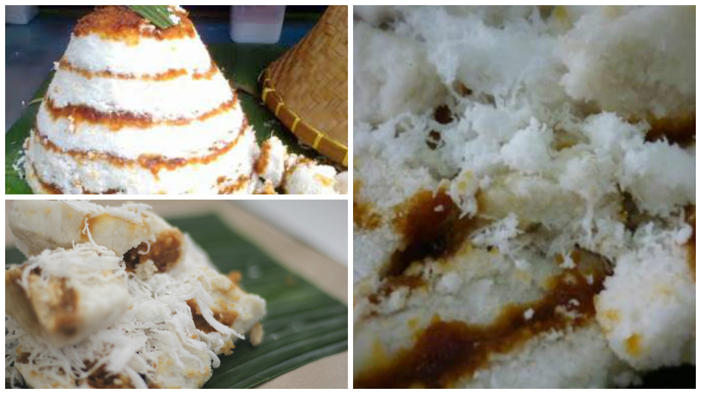 Kue Dongkal Ini Merupakan Makanan Tradisional Khas Betawi Tampilan Dan Rasanya Mirip Dengan Kue Awug Dari Jawa Dulu Pas Saya Kecil Sukaaaaa Banget Sama