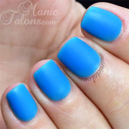 BMC Matte Gel Polish Weekends in Greece Swatch