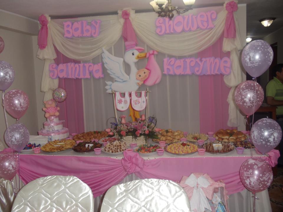 la dulce espera organizacion de baby shower
