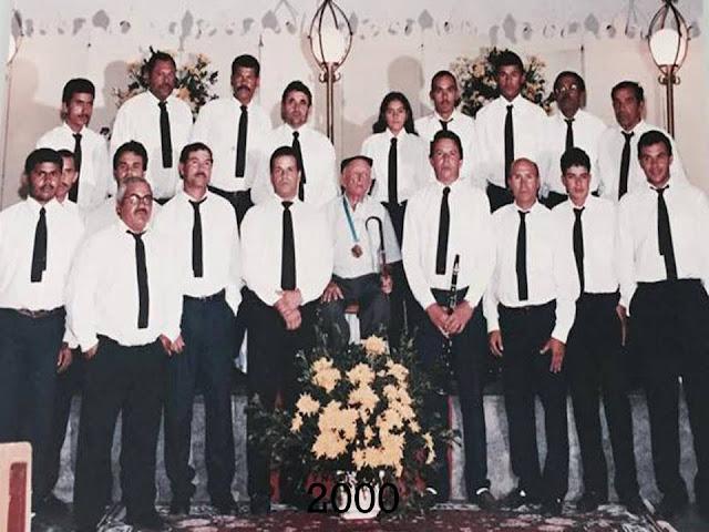 Banda Marcial Mariano de Assis de 2000